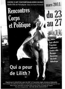 Affiche 1 qui a peur de Lilith