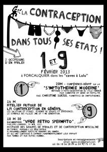 Affiche contraception