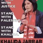 La militante palestinienne Khalda Jarrar a été arrêtée !