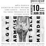 Fête d'Inauguration de la bibliothèque infokiosque Corps et Politique Vendredi 10 juin 2016